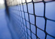 Paddle tennis or tennis net Royalty Free Stock Photo