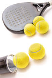 Paddle tennis time! Stock Image