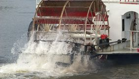 Paddle Wheel in action Royalty Free Stock Photography