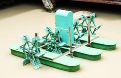 Paddle Wheel Aerator Stock Images