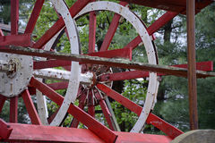 Paddle wheel detail Stock Images