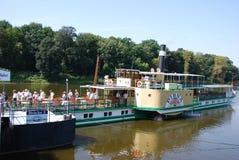 Free Paddle Wheel Steamer Stock Photo - 30302720