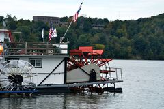 Paddle wheels Stock Photos