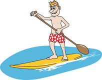 Paddleboard Royalty Free Stock Photo