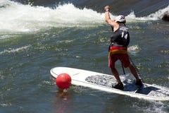 Paddleboarder Royalty Free Stock Image