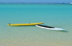 Paddleboards Royalty Free Stock Images