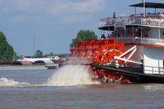 Paddleboat或河船 免版税库存图片