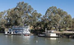 Paddleboat на Реке Murray, Mildura, Австралии стоковая фотография rf