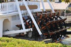 Paddleboat at dock Stock Photo