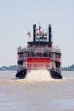 Paddleboat eller riverboat Arkivfoton