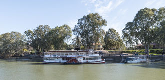Paddleboat Melbourne, Murray River, Mildura, Asutralia Royalty Free Stock Photography