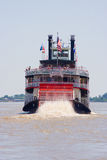 Paddleboat o riverboat Fotografie Stock