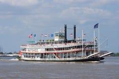 Paddleboat o riverboat Immagine Stock Libera da Diritti