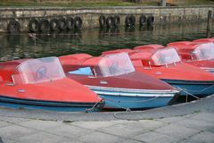 Paddleboats Stock Photography