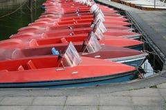 Paddleboats Stock Image