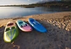 paddleboats tre Arkivfoton