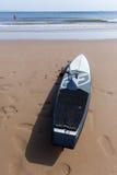 Paddler Deskowy ocean Zdjęcia Royalty Free