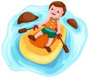 paddler kayak Стоковое фото RF
