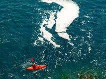 paddler morze Zdjęcie Stock