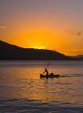 paddler słońca Zdjęcie Stock