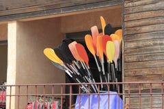 Paddles Fotografia Stock