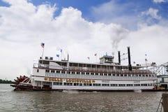 Paddlesteamer Riverboat de Schoonheid van Louisville stock foto's