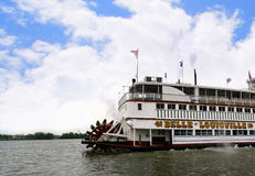 Paddlesteamer Riverboat on the River Ohio in Louisville Kentucky Royalty Free Stock Image