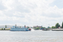 Paddlewheel βάρκα Στοκ φωτογραφία με δικαίωμα ελεύθερης χρήσης