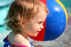 Paddling pool Stock Images