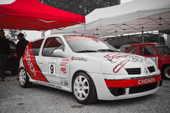 Paddock from rally XI Imperial city Royalty Free Stock Photos