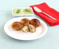 Paddu南印地安素食食物 库存图片