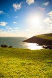 paddy krajobrazu Linia brzegowa oceanu wybrzeża atlantycka sceneria Zdjęcie Royalty Free