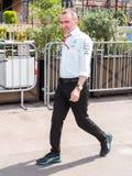 Paddy Lowe verkställande direktör av laget för AMG Mercedes F1 Arkivfoto