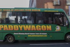 Paddy Wagon Dublin, Irland royaltyfria bilder