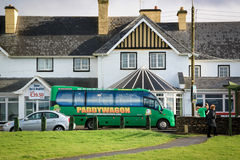 Paddy Wagon Tours, Irlanda Fotografia de Stock Royalty Free