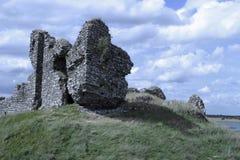 paddy z zamku ruin Fotografia Stock