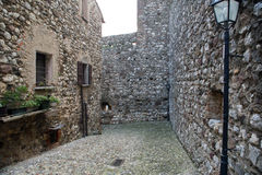 Padengha sul Garda castle Royalty Free Stock Photo