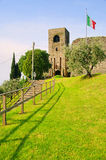 Padenghe sul Garda. Old castle in Italy near Lake Garda Royalty Free Stock Photography