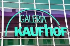 Paderborn, Βεστφαλία northrine, Γερμανία, 25 05 18, οικοδόμηση ενός καταστήματος galeria kaufhof Στοκ φωτογραφίες με δικαίωμα ελεύθερης χρήσης