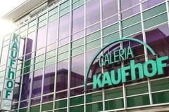 Paderborn, Βεστφαλία northrine, Γερμανία, 25 05 18, οικοδόμηση ενός καταστήματος galeria kaufhof Στοκ εικόνες με δικαίωμα ελεύθερης χρήσης