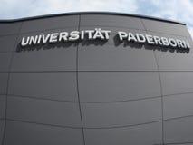 Paderborn, Βεστφαλία northrine, Γερμανία, 10 05 2016, πανεπιστήμιο του paderborn, Στοκ φωτογραφία με δικαίωμα ελεύθερης χρήσης