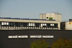Paderborn, Βεστφαλία northrine, Γερμανία, 10 05 2016, πανεπιστήμιο του paderborn, Στοκ Φωτογραφία