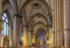 Paderborn Cathedral, Germany Royalty Free Stock Images