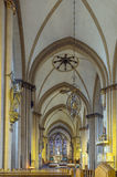 Paderborn Cathedral, Germany Stock Images