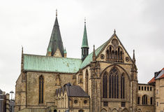 Paderborn Cathedral,  Germany Royalty Free Stock Photography