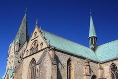 Paderborn cathedral Stock Photos