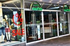 Paderborn, northrine Westphalie, Allemagne, 25 05 18, construction d'un magasin de galeria de kaufhof image libre de droits