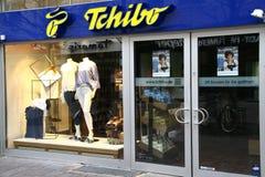 Paderborn, NRW, Allemagne, 04 16 2018, branche du tchibo Gmbh, Image libre de droits