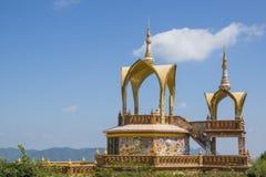 Padiglione buddista tailandese Fotografia Stock Libera da Diritti