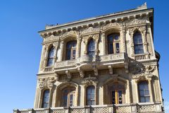 Padiglione Costantinopoli Turchia di Kucuksu fotografia stock libera da diritti